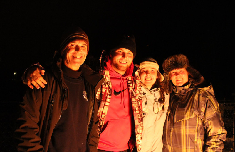 Group at Old Forge Camping Resort.
