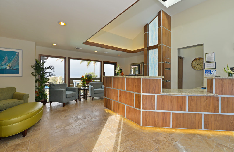 Lobby at Best Western Plus Shelter Cove Lodge