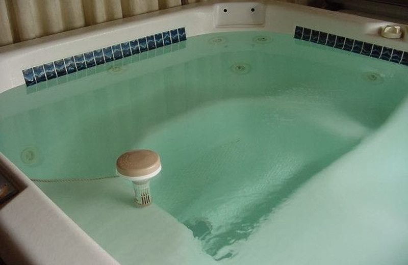 Hot tub at Mountain Vista Bed & Breakfast.