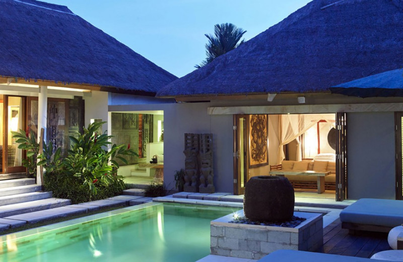 Exterior view of The Purist Villas & Spa.
