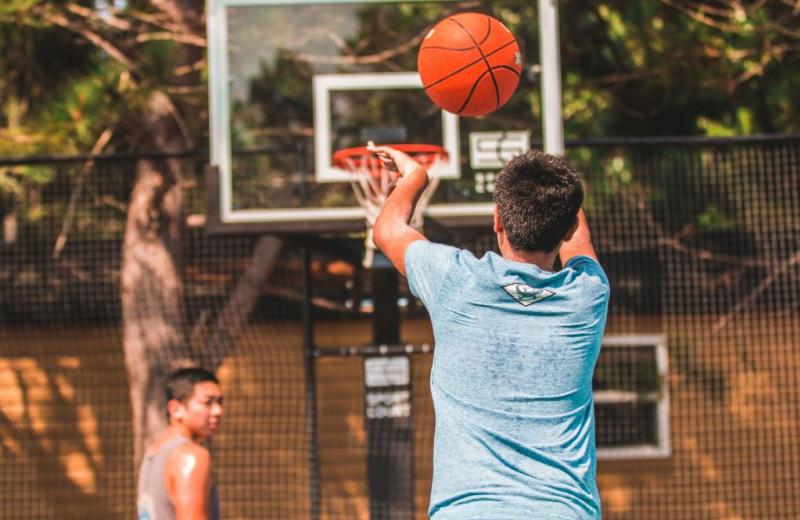 Basketball at Great Blue Resorts- Shamrock Bay Resort.