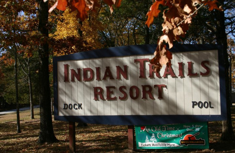 Welcome to Indian Trails Resort.