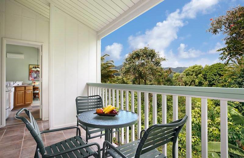 Resort balcony at Grand Pacific Resorts.