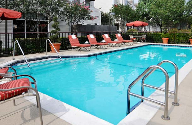 Outdoor pool at Inn by Marriott Dallas - Central Expressway.