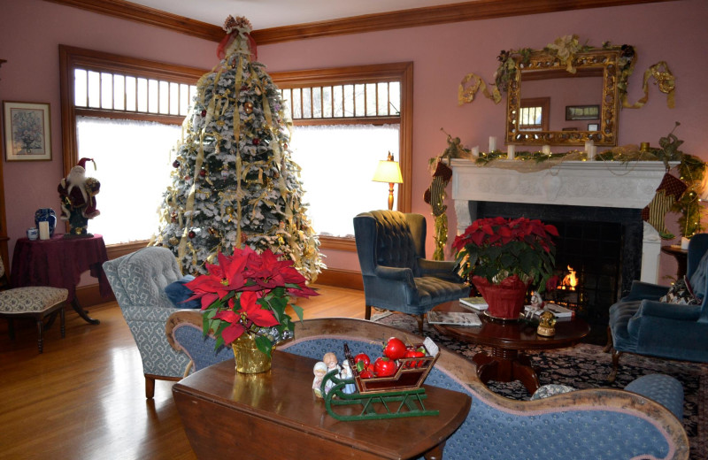Holiday season at Napa Inn Bed & Breakfast.