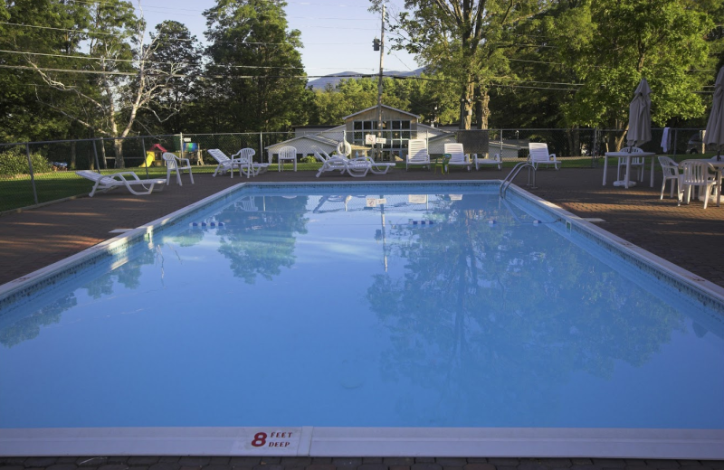 Outdoor pool at The Country Place Resort.