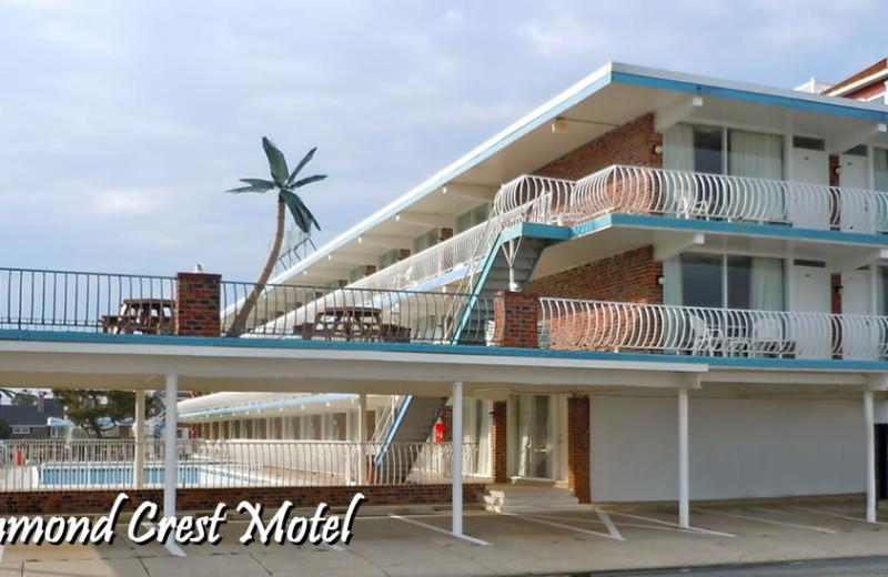 Exterior view of Diamond Crest Motel.