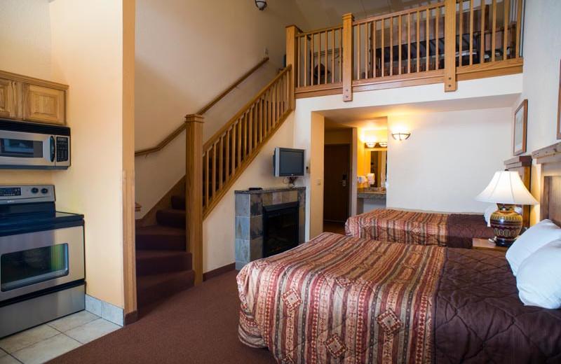 Guest room at Chula Vista Resort.