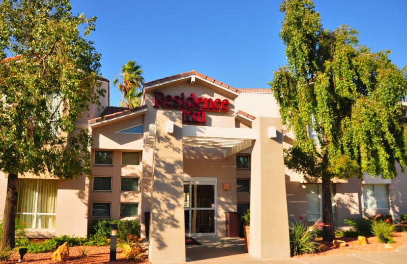 Exterior view of Residence Inn by Marriott Tempe.