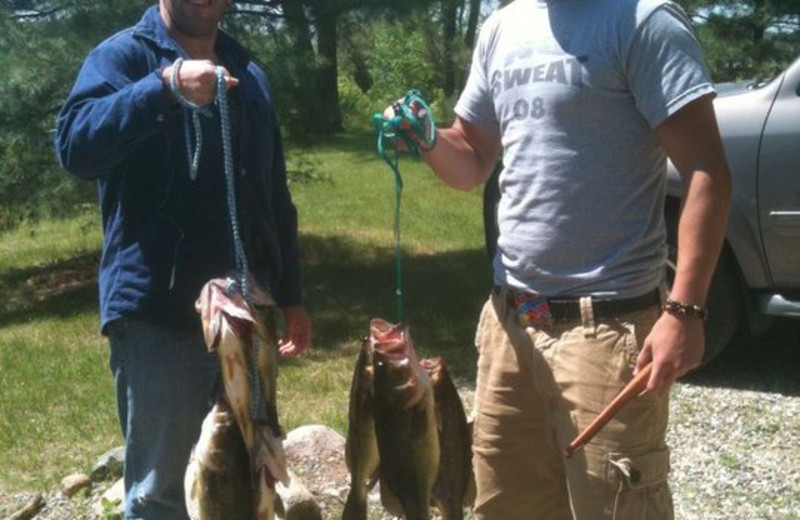 Fishing at Royal Starr Resort