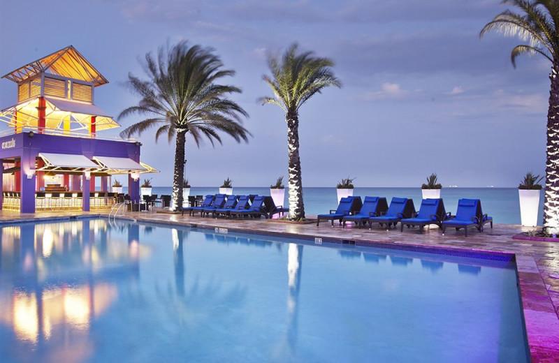 Outdoor pool at Tamarijn Aruba.