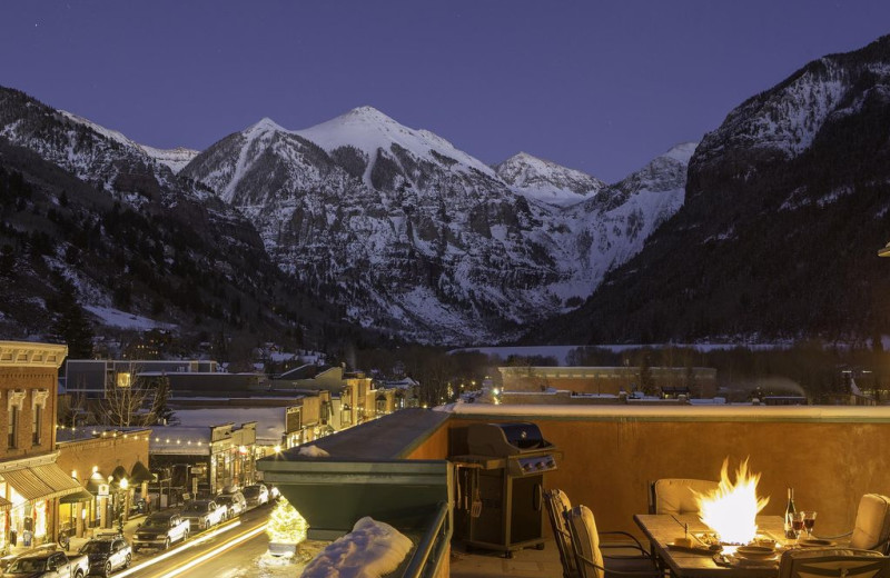 Rental view at Welcome to Telluride Vacation Rentals.