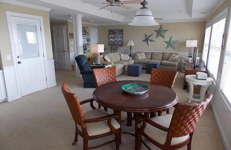 Rental interior at Ocean Isle Beach Realty.