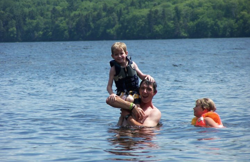 Water activities at Wilsons on Moosehead Lake.