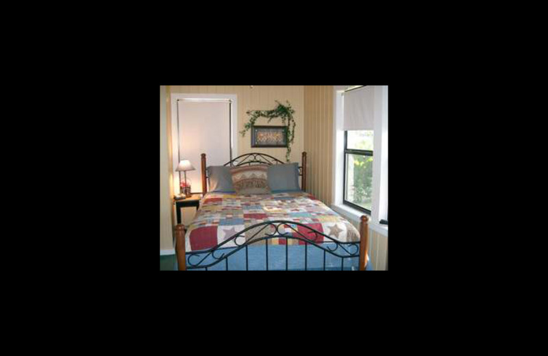 Bedroom at Loch Lone Star on Lake LBJ.