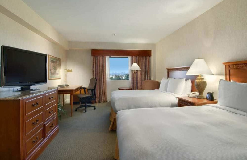 Guest room at Hilton Tucson East.