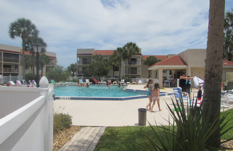 Rental pool at Saint Augustine Beach Vacation Rentals.