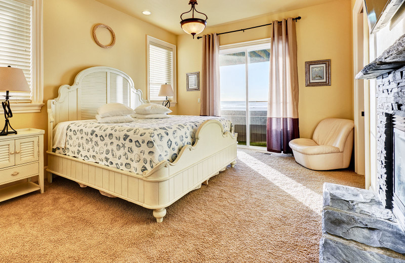 Bedroom at Admiral's Beach Retreat.