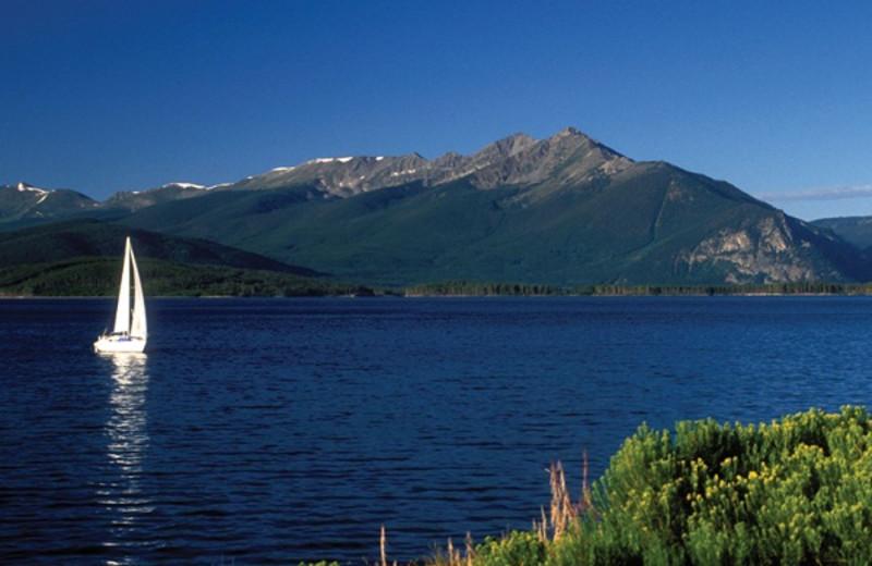 The Dillon Reservoir near Grand Lodge on Peak 7.