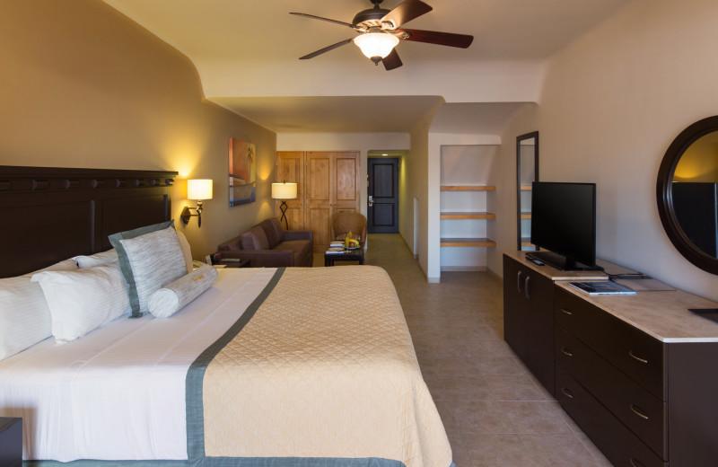 Guest room at Tesoro Los Cabos.
