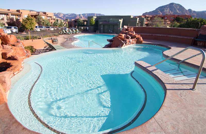 Outdoor pool at Sedona Summit.