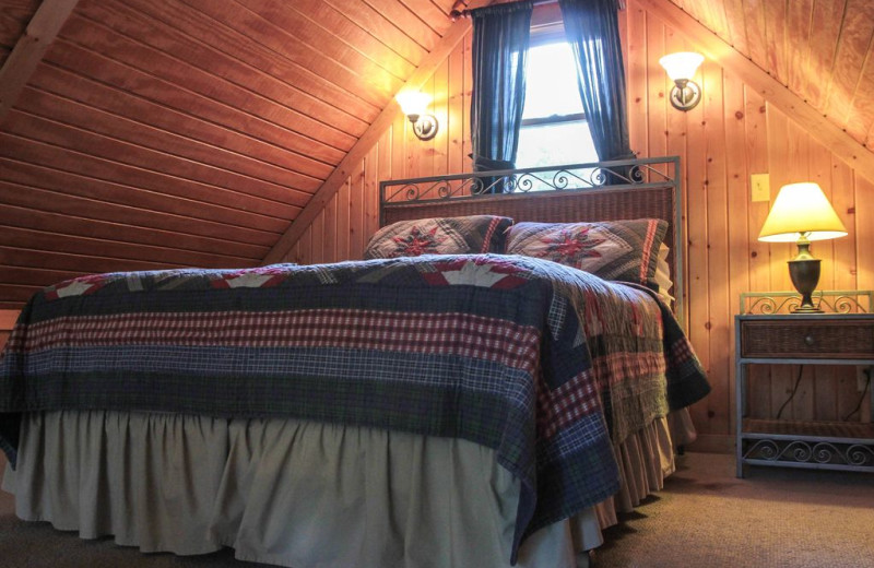 Bedroom at Pine Cone.