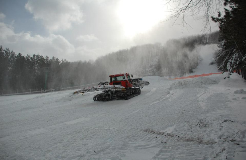 Trail Groomer at Wisp Resort