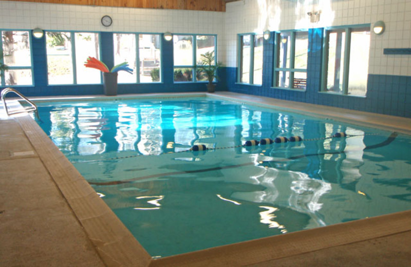 Indoor pool at Hidden Valley Resort.