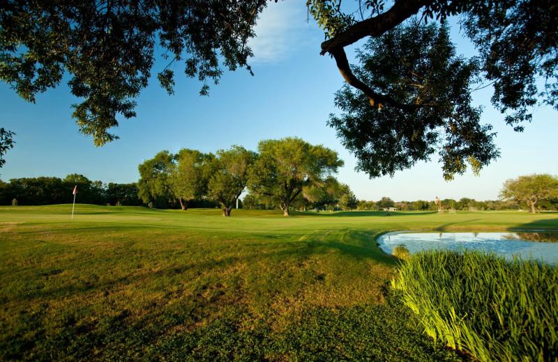 Golf course near River City Resorts.