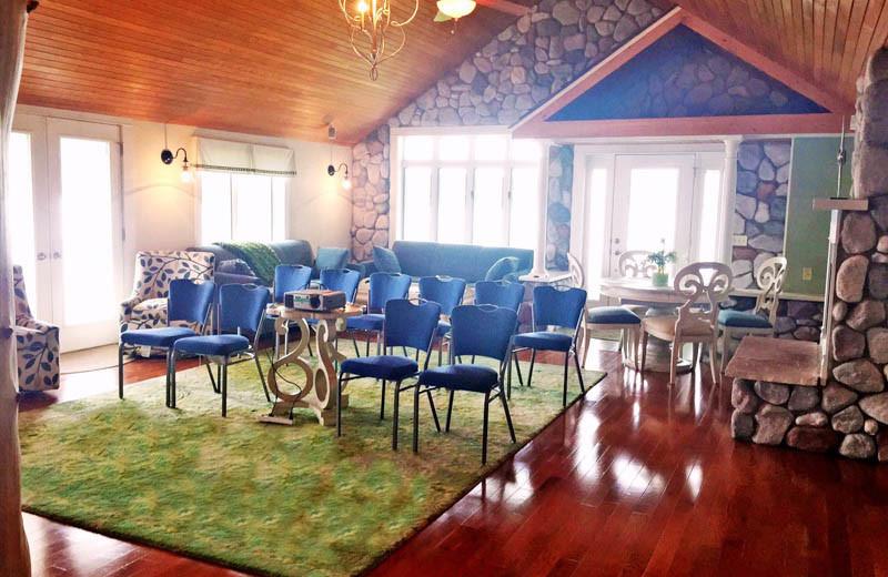 Meetings at BoatHouse Villa.