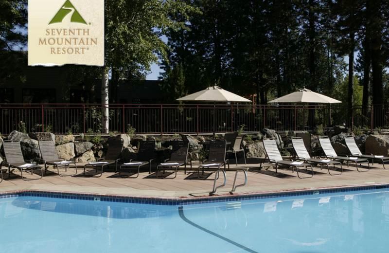 Outdoor Pool at Seventh Mountain Resort