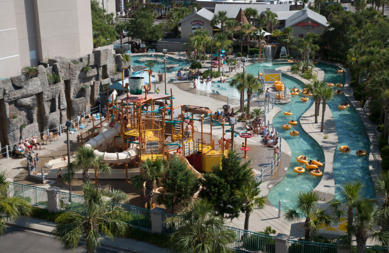 Water park at Sands Resorts.