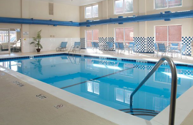 Indoor Pool at the Fairfield Inn & Suites Hickory