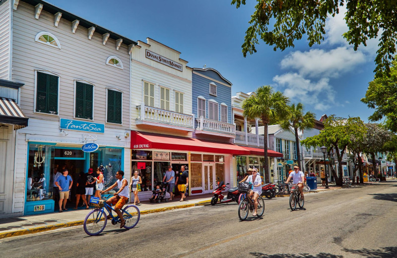 We have bike rentals available and it's the best way to tour our little island!