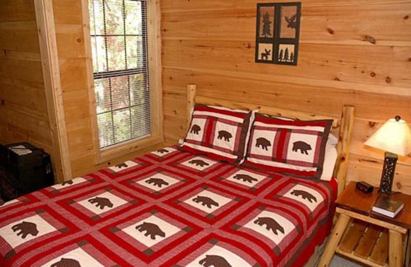 Bedroom Vacation Rental at Volunteer Cabin Rentals