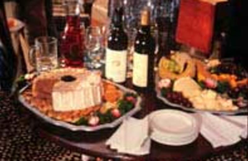 Dinning at Winter Clove Inn.