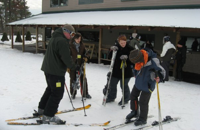 Skiing at The Settlers Inn