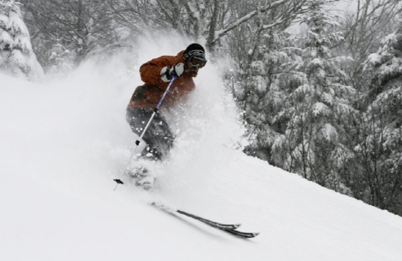 Skiing at Killington Resort.