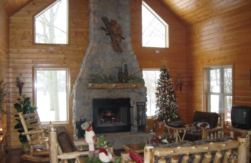 Holidays at Red Cedar Lodge.