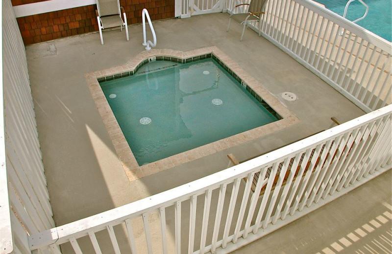 Kiddie pool at Oasis Suites.