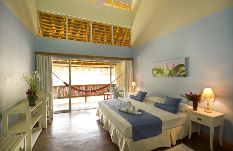 Guest room at Villas del Caribe.