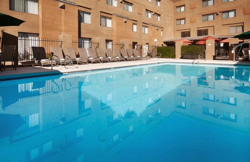 Outdoor pool at Best Western Tempe by the Mall.