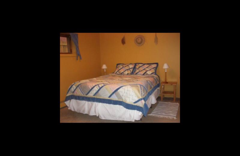 Guest bedroom at Cottage Bed & Breakfast.