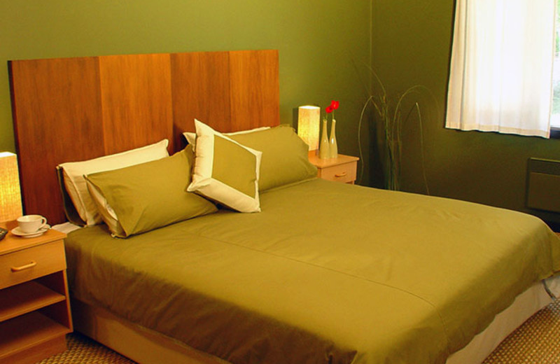 Guest room at Takaro Lodge.