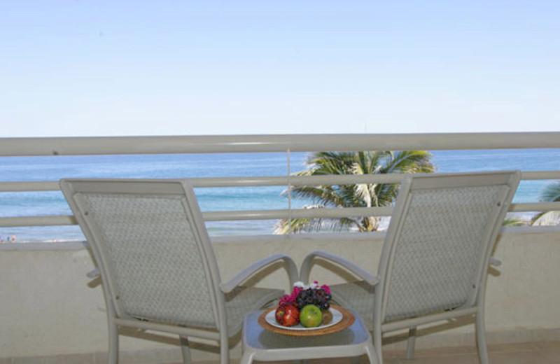 Balcony at Hola Grand Faro Los Cabos