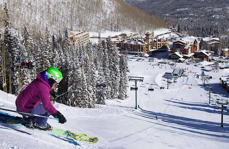 Skiing at Hill Country Lake House.