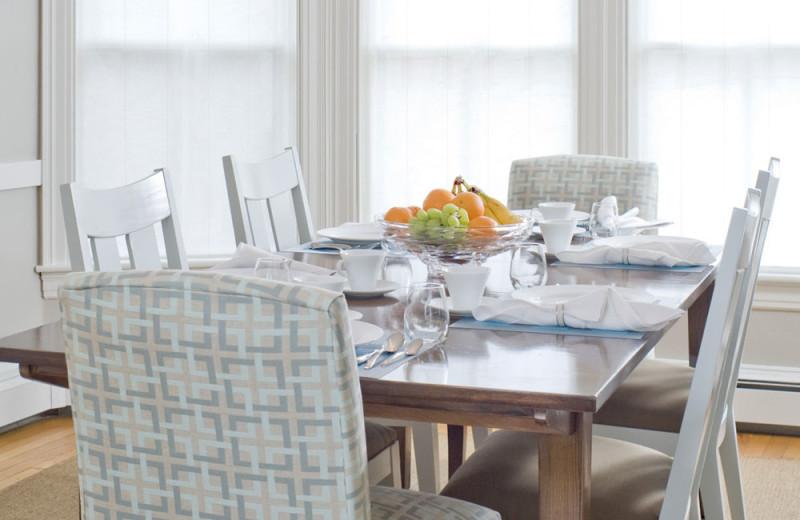 Dining room at The Inn at English Meadows.