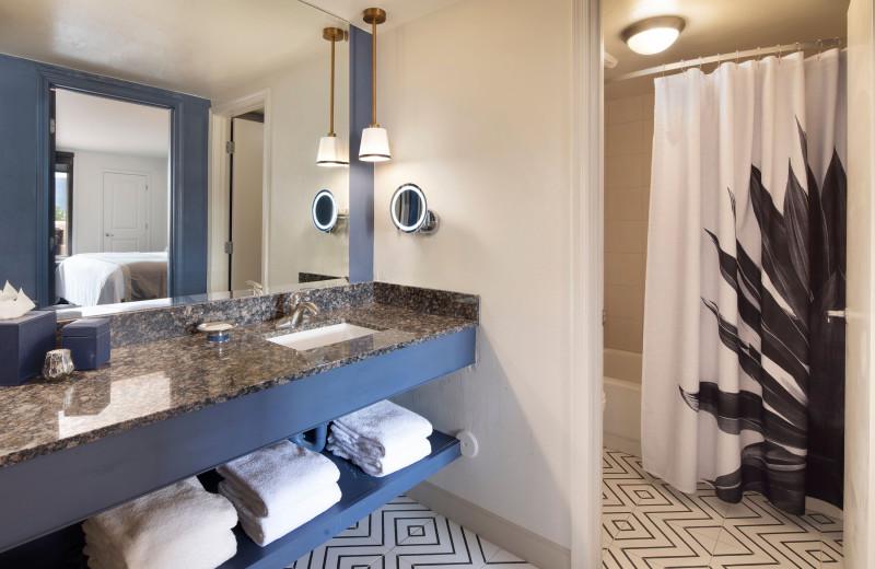 Guest bathroom at Best Western Plus Inn of Sedona.