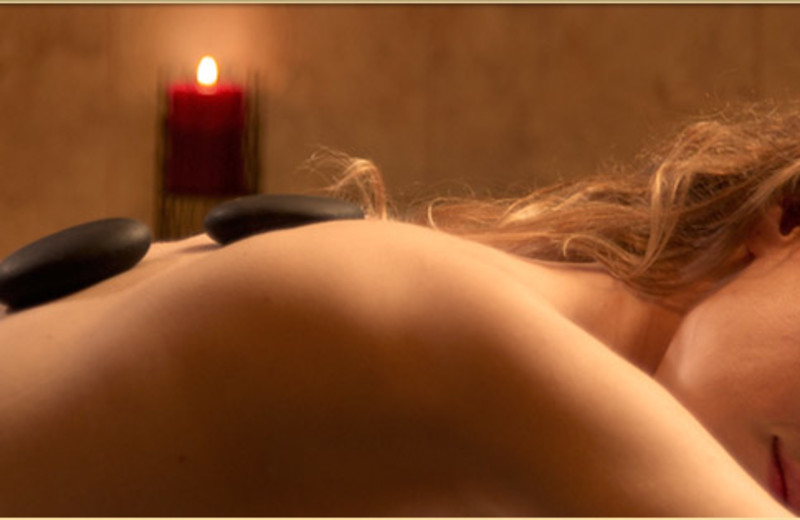 Hot Stone Massage at  Eagle Ridge Resort