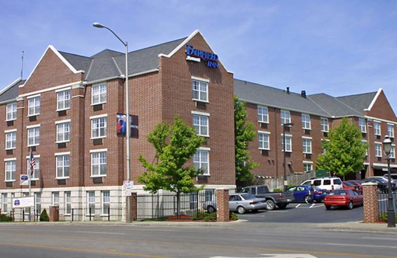 Exterior view of Fairfield Inn Kansas City Downtown.